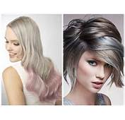 Ash Blonde Hair Style With Highlights Platinum And Honey