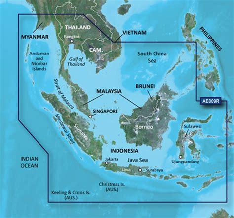 us marine detail map g2 update card hae009r mal indonesia garmin