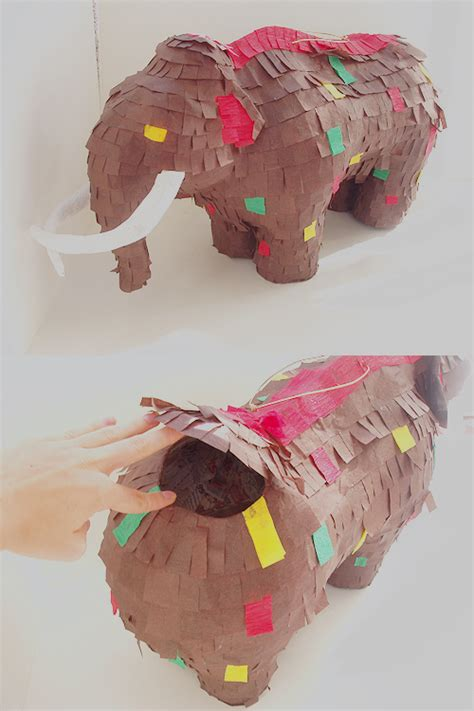 Make Paper Mache Pinata - paper mache mammoth pinata by paperprimate on deviantart