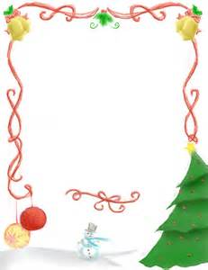 Best photos of christmas borders for word free christmas borders