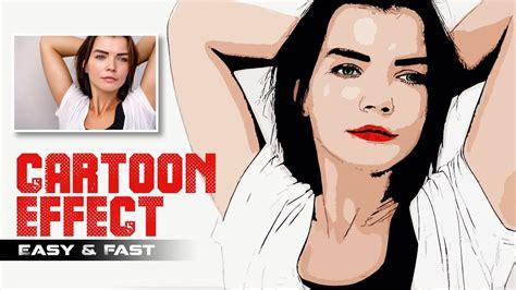 change   vector cartoon easily  photoshop