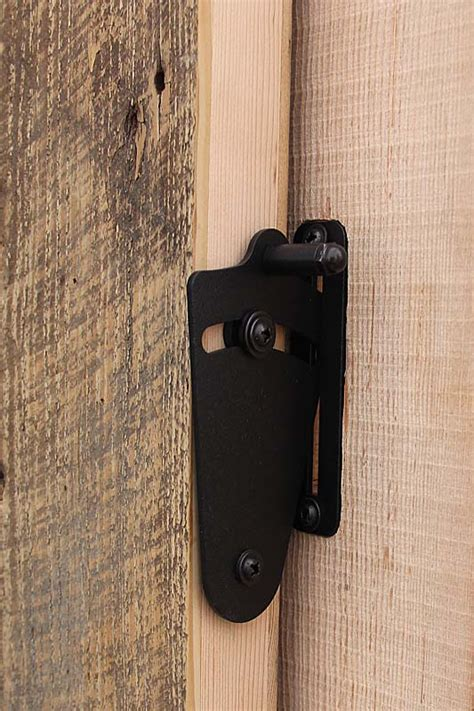 Barn Door Privacy Lock Reclaimed Lumber Products Locking Barn Door Hardware