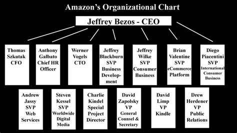 amazon organizational structure amazon s organizational chart bus100dlemoine