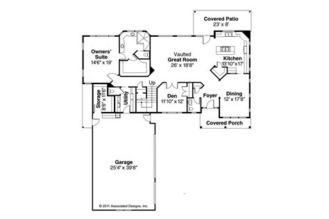 southwest house floor plans southwest house plans casselman 30 432 associated designs