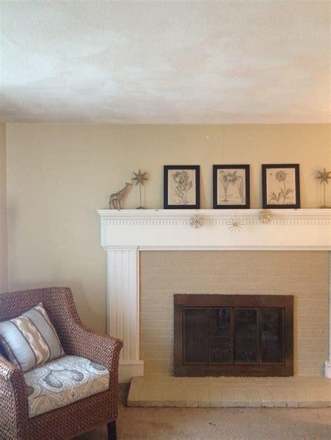 Paint Fireplace Surround by Painted Brick Fireplace Surround Portfolio