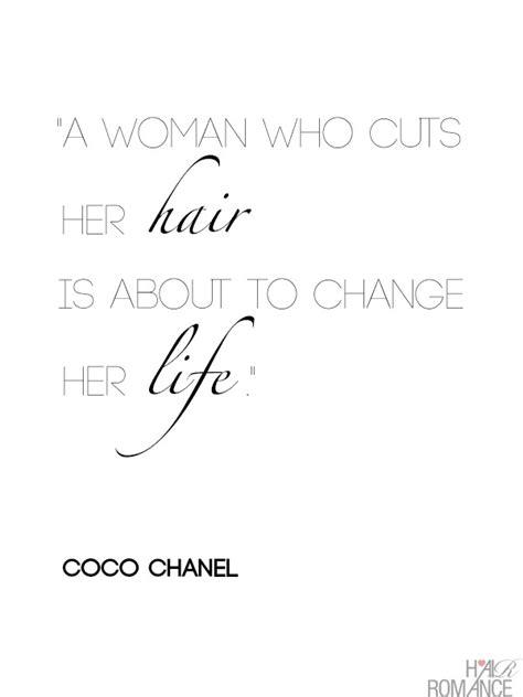 woman  cuts  hair    change  life