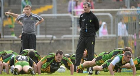 Backroom Pass by Donegal Manager Selects New Backroom Examiner