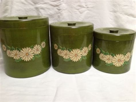 green kitchen canisters sets 17 best images about kick the can isters on