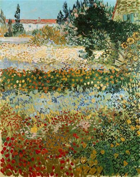 gogh fiori giardino con fiori olio su tela di vincent gogh