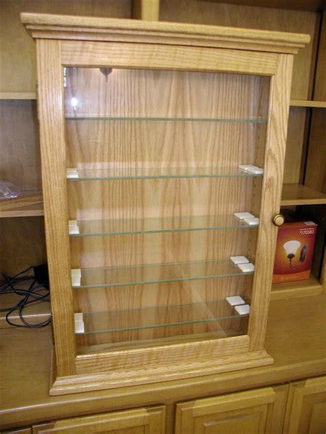 shot glass display cabinet  scopemonkey  lumberjocks