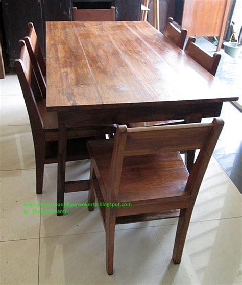 Meja Makan Jati Kursi Enam maestro antik purwokerto meja dan kursi makan jengki jati mj130 sold