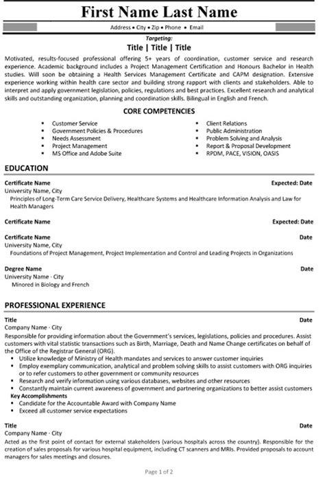 resume writing consultant consultant resume sle template