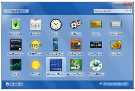 no more desktop gadgets support in windows 8