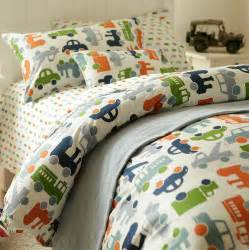 Toddler Bed Duvet Cover Set Cute Cartoon Car Bedding Set Twin Full Teenage Kids Boy
