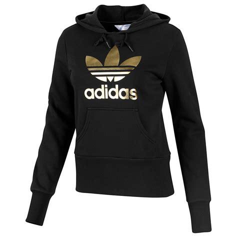 Adidas Trefoil Hoodie adidas originals trefoil hoodie schwarz damen pullover