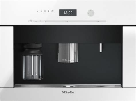 miele einbau kaffeeautomat miele cva 6401 einbau kaffeevollautomat