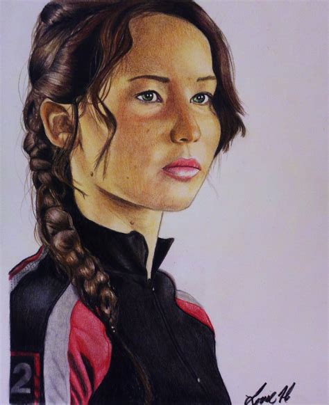 the hunger games katniss by laart39 on deviantart