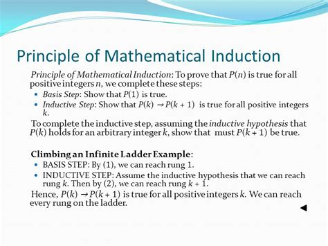 principle of mathematical induction for class 11 mathematical induction principle 28 images properties of the integers mathematical induction