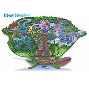 Map Of The Magic Kingdom Disney World