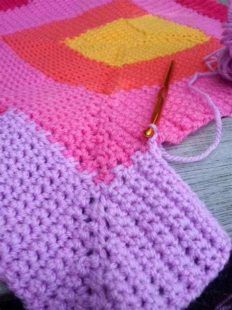 10 Stitch Decke by Ten Stitch Blanket Crochet Pattern Look At What I Made