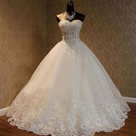 Wedding Dress Princess by Cap Sleeves V Neck Princess Gown Wedding