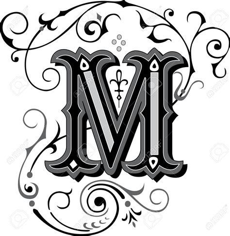 beautiful alphabet letter designs m theveliger