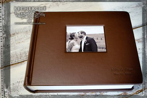 Wedding Albums Leather by Heirloom Wedding Photography Finished Album Leather
