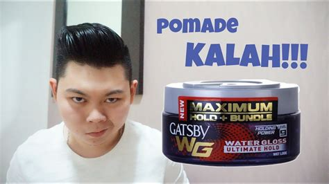 Minyak Rambut Pomade gatsby water gloss ultimate hold level 9 pomade kalah