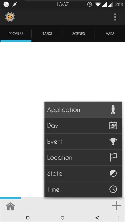 tutorial tasker tutorial tasker 1 fundamentos f 243 rum android androidpit