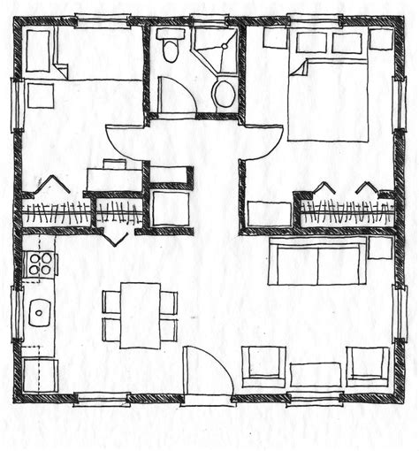 small floor plan home designs and floor plans modern house
