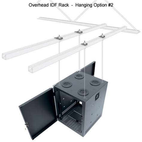 middle atlantic overhead idf intermediate distribution rack