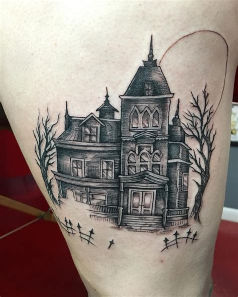 haunted house designers image haunted house tattoo designs download