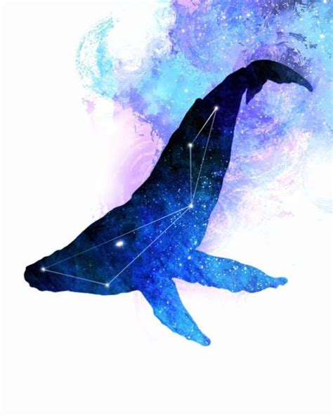 watercolor orca tutorial whale painting space whale whale constellation whale