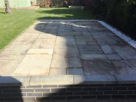 Grouting Patio by Cleaning And Grouting Sandstone Patio Paving In Kettering