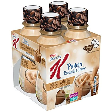 carbohydrates in kellogg s special k kellogg s special k protein cafe inspired shake vanilla
