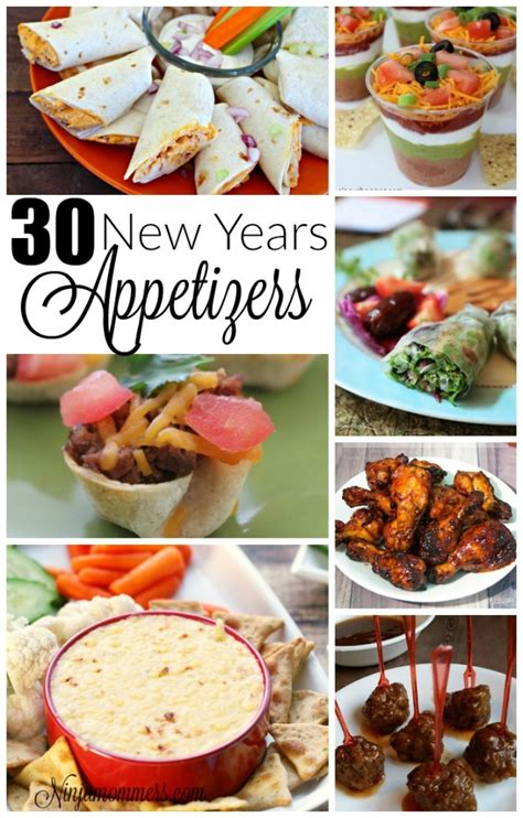 new year recipe 30 new years appetizer recips
