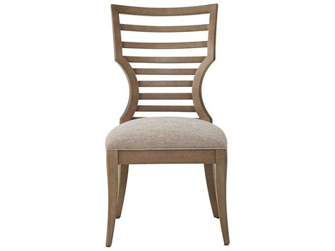 stanley furniture dining chairs stanley furniture virage basalt wood dining side chair