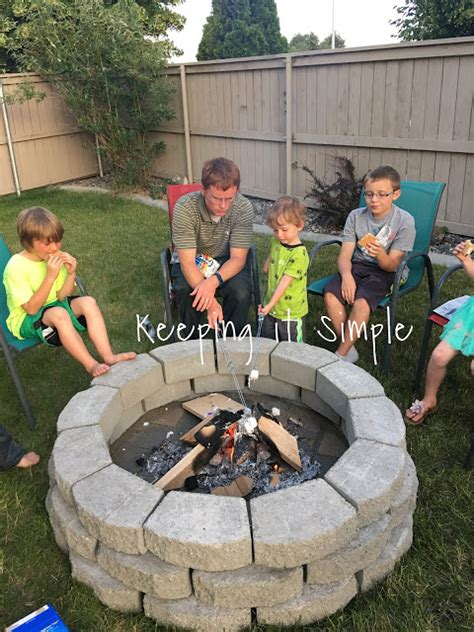 can i build a fire pit in my backyard how to build a diy fire pit for only 60 keeping it