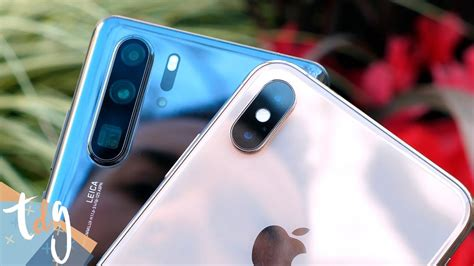 161 le pone las pilas al iphone huawei p30 pro vs iphone xs max