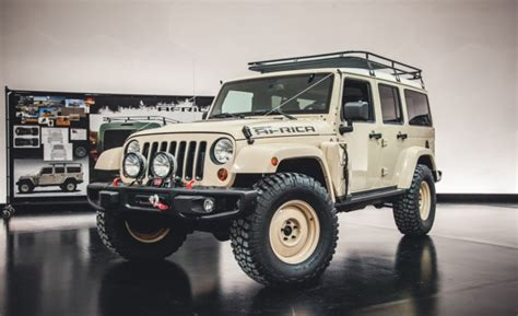 jeep africa concept jeep wrangler africa concept built to safari car