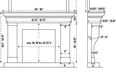 standard fireplace mantel height 1147 599 cast fireplace mantel mantle