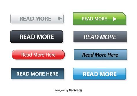 read here read more button set free vector stock