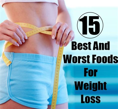 1 weight loss food 1 worst food for weight loss coverinter