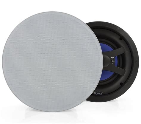 Single Stereo Ceiling Speaker by Blucube Cxcl 650 S Single Stereo In Ceiling Speaker