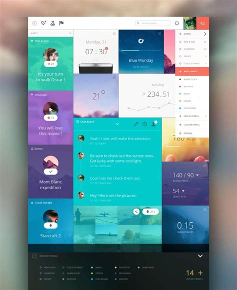 design app web 20 inspirational dashboard designs noupe
