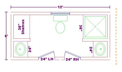 6 X 12 Bathroom Floor Plans | foundation dezin decor bathroom plans views