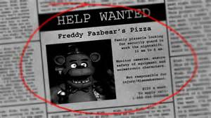 Five nights at freddy s you got hired as a security guard for the