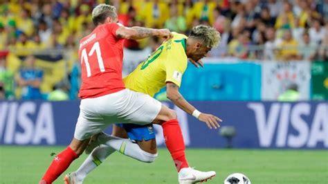 161 brasil no pudo con suiza y empataron 1 1 en el mundial