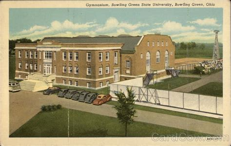 Post Office Bowling Green Ohio by Gymnasium Bowling Green State