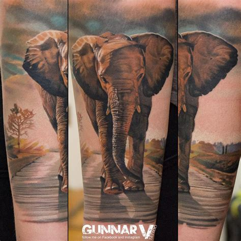 elephant arm tattoo elephant best ideas gallery